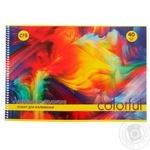 Альбом для рисования Economix на пружине 120г/м2 40лис - купить, цены на Novus - фото 1