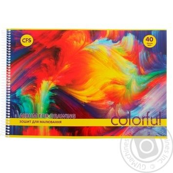 Economix Album for Drawing 40sheets - buy, prices for Novus - image 1
