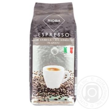Кофе Rioba Espresso в зернах 1кг - купить, цены на Метро - фото 1