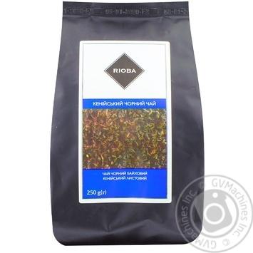 Чай Rioba черный кенийский байховый 250г