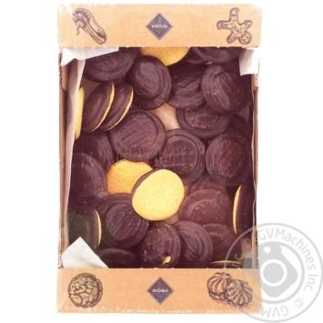 Печиво Rioba Деліція смак апельсину 1кг - купити, ціни на Метро - фото 1