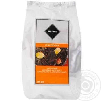 Чай зеленый Rioba манго 250г