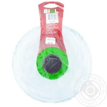 Крышка стеклянная высокая Биол 26см - купить, цены на Novus - фото 2