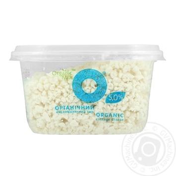 Творог Organic Milk 5% 300г - купить, цены на Ашан - фото 1