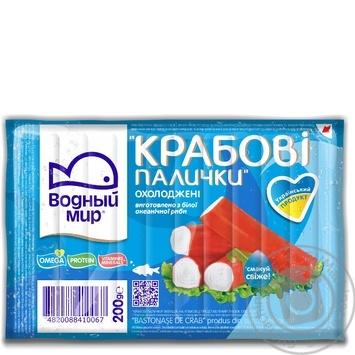 Vodnyi mir chilled crab sticks 200g - buy, prices for Novus - image 3