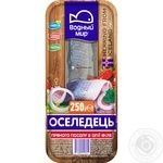 Vodniy Myr Spicy-Salted Herring Fillets In Oil 250g