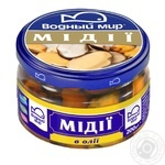 Vodniy Myr Mussels Meat In Oil 200g