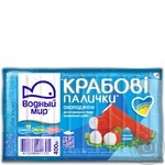 Vodnyi Mir Chilled Crab Sticks 400g