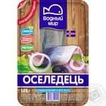 Vodniy Myr lightly salted in oil herring fillets 500g