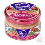 Vodniy Myr Capelin Caviar With Smoked Trout Pieces Pasteurized Paste 160g