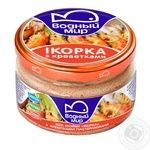 Vodniy Myr Capelin Caviar With Prawns Pasteurized Paste