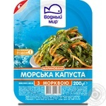 Laminaria Vodnyi mir with carrot 200g