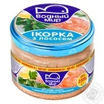 Vodnyi mir with salmon capelin caviar 250g