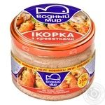 Vodnyi mir with shrimp capelin caviar 250g
