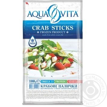 Aqua Vita Frozen Crab Sticks 100g