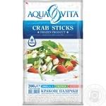 Крабовые палочки Aqua Vita замороженные 200г