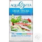 Aqva vita chilled crab sticks 100g