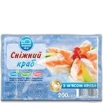 Vodnyi Mir Frozen Crab Sticks 200g