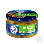 Vodnyi mir pickled with herbs mussels 200g - buy, prices for Novus - image 1