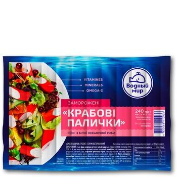 Water World Crab Sticks 240g - buy, prices for Furshet - image 1