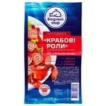 Vodnyi Mir Chilled Crab Rolls from Surimi with Salmon Meat 200g