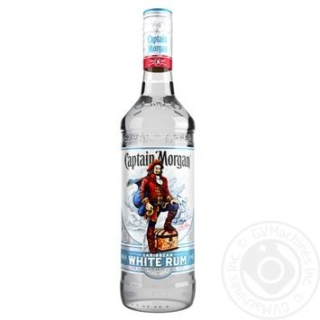 Ром Captain Morgan White 37.5% 1л - купить, цены на Novus - фото 1