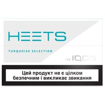 Heets Turquoise Label Tobacco Sticks 0,008g*20pcs - buy, prices for CityMarket - photo 1