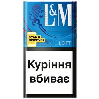 Цигарки L&M Loft Blue - купити, ціни на Восторг - фото 1