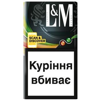 Сигареты L&M Loft Double Splash 20шт