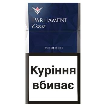 Цигарки Parliament carat blue