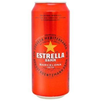 Estrella Damm Barcelona Light Beer 4,6% 0,5l - buy, prices for CityMarket - photo 1