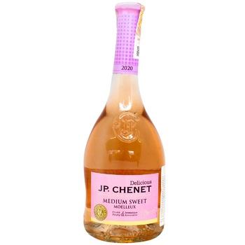 Вино J.P.Chenet Rose розовое полусладкое 12% 0,75л