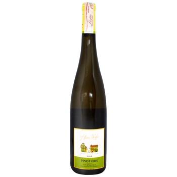 Вино Henri Weber Pinot Gris белое сухое 12% 0,75л