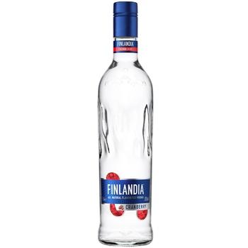 Водка Finlandia Клюква белая 37.5% 0,7л - купить, цены на Метро - фото 1