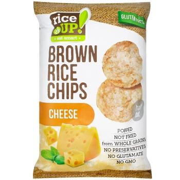 Чипсы рисовые Rice up! сыр 60г