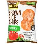 Rice Up! Paprika Brown Rice Chips 60g