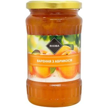 Rioba apricot jam 465g