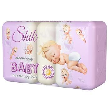 Крем-мыло Шик Роза и лаванда перед сном детское 5шт 70г