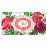 Мыло туалетное Шик роза 140г