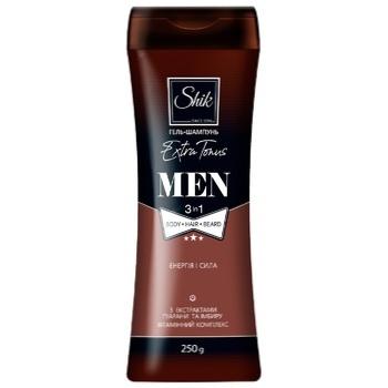 Shik Men Extra Tonus Gel-Shampoo 250ml