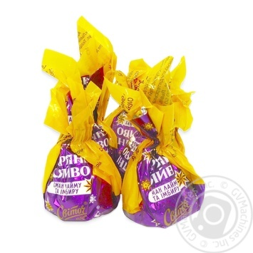 Конфеты Свиточ Звездное сияние со вкусом лайма и имбиря весовые