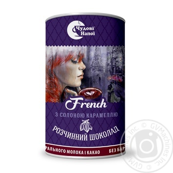Chudovi Napoi Instant Hot Chocolate French 200g - buy, prices for MegaMarket - image 1