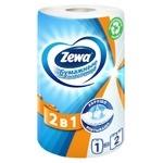 Полотенца бумажные Zewa белые 2-х слойные 1шт