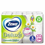 Туалетная бумага Zewa Deluxe Ромашка 24шт