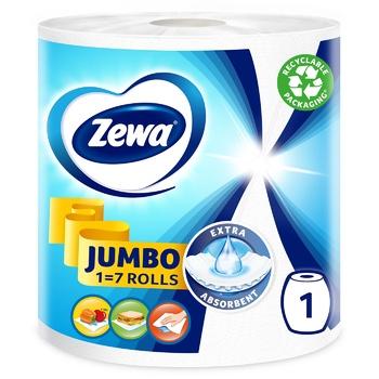 Рушники кухонні Zewa Design Jumbo паперові - купити, ціни на Ашан - фото 4