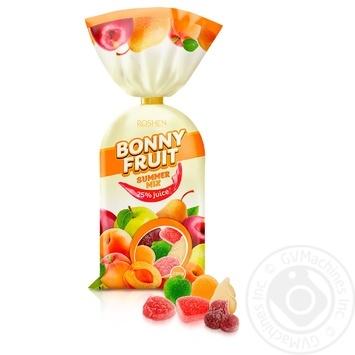 Конфеты желейные Roshen Bonny-Fruit летний микс 200г - купить, цены на Novus - фото 1