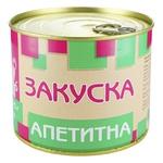 Консерва Пятачок Закуска аппетитная мясная стерилизованная с пищевыми добавками 525г