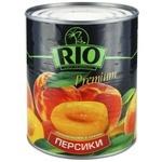 Персики Рио половинки в сиропе 850мл Греция