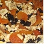 Dried fruits fruit and nut