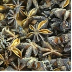 Spices star anis whole